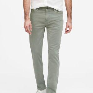 Slim Traveler Pant (Khaki/Army Green)